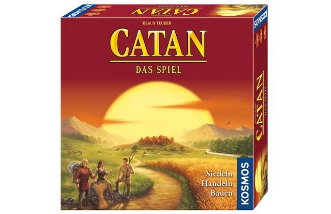 Catan-Spielepackung