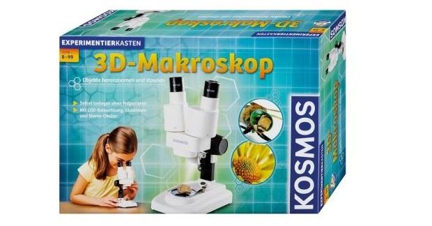 Experimentierkasten 3D-Makroskop