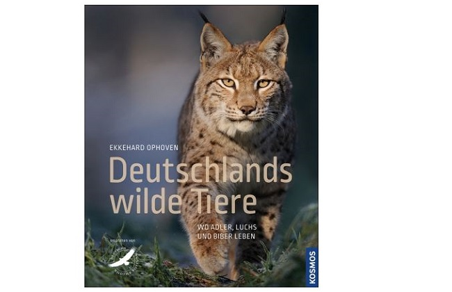 Buchcover - Ophoven, Deutschlands wilde Tiere