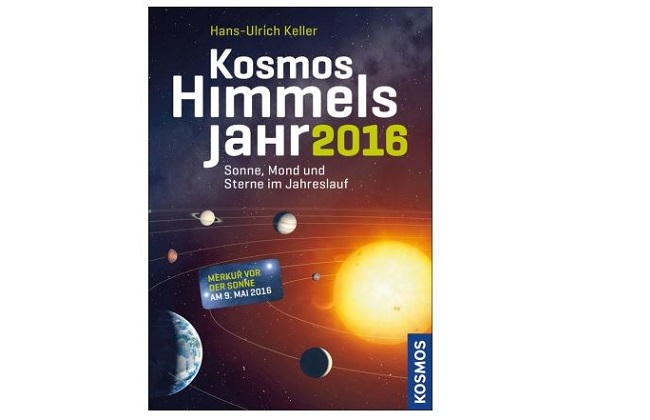 Buchcover Kosmos Himmelsjahr 2016