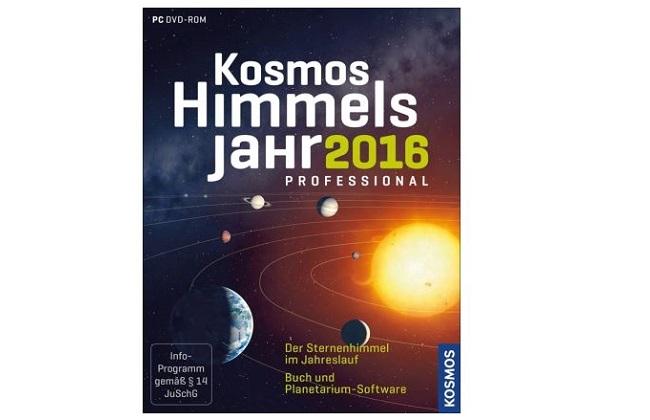 Box Kosmos Himmelsjahr professional 2016