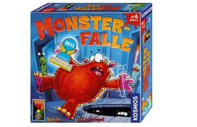 Gesellschaftsspiel Monsterfalle
