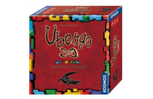 Geellschaftsspiel Ubongo 3D-Variante